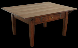 Antique Cherry Tavern Style Coffee table