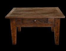 Small Antique Oak Coffee Table